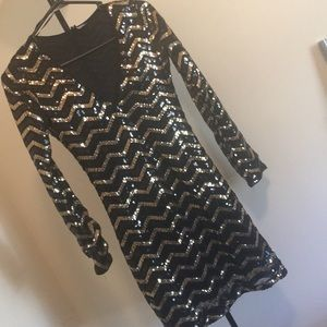 Sequin Holiday Party Dress size small